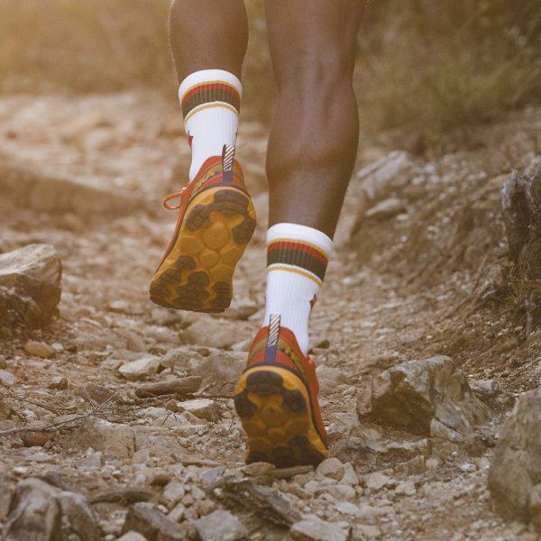 STOKED TRAIL RUNNING SOCKS REVERSE